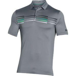 New-Mens-Under-Armour-Muscle-Golf-Polo-Shirt-Small-Medium-Large-XL-2XL-3XL