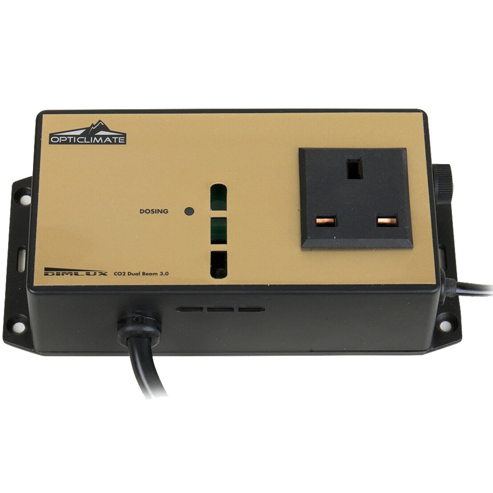 Dimlux Sensore CO2, una piantagione Idroponica anidride carbonica Management