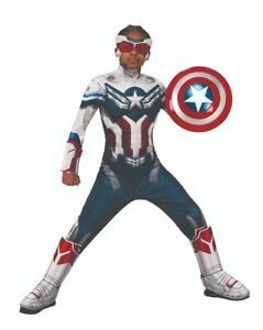 Captain America CHILD Boys Costume Size L Large The Falcon and Winter Soldier