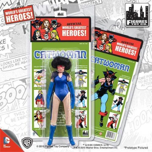 KRESGE MEGO RETRO CATWOMAN SERIES 1; 8 INCH ACTION FIGURE MOSC NEW MINT