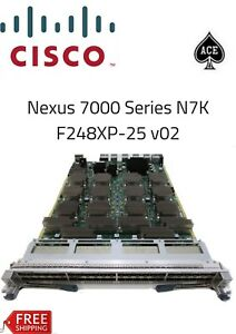 Details about Cisco Nexus 7000 48-Port 1 and 10 Gigabit Ethernet F2-Series  N7K-F248XP-25 v02