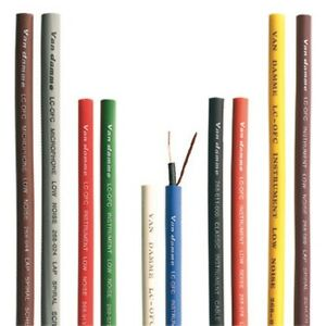 Van-Damme-XKE-Pro-Instrument-Cable-Sold-By-The-Metre-Choice-of-10-Colours