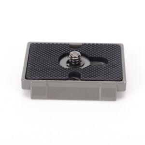 Trepied-Quick-Release-Plate-QR-pour-Manfrotto-200PL-14-496-486-804-RC2
