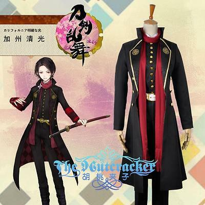 HOT Webgame Touken Ranbu Kashuu Kiyomitsu Cosplay Costume Any Size