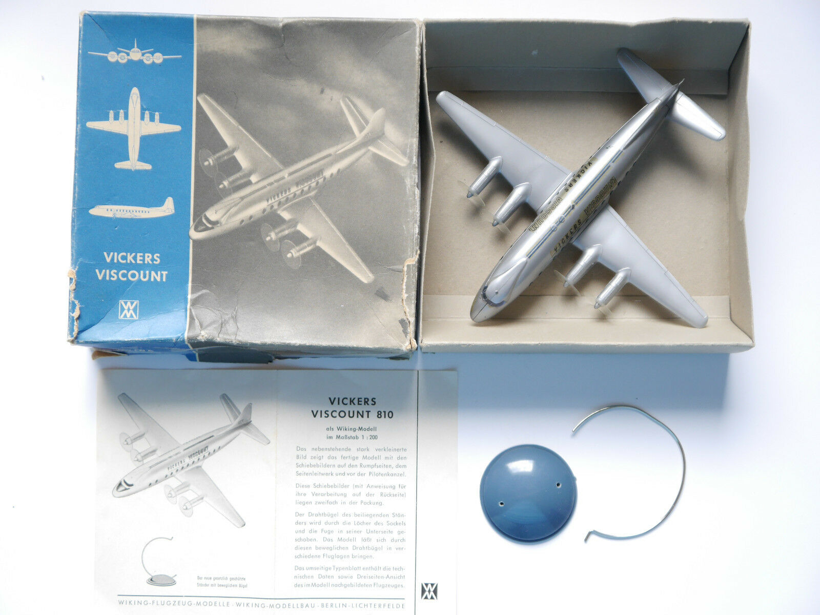 Vickers Viscount 810, Wiking in 1 200 Boxed