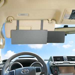 Sun Blocker For Car >> Details About Tfy Car Visor Extender Anti Glare Window Sunshade Uv Rays Sun Blocker Grey