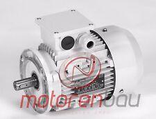 Energiesparmotor IE2, 0,75kW, 1500 U/min, B14K, 80B, Elektromotor,Drehstrommotor