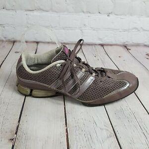 920b63f6b50f9 Adidas Women s Size 9.5 Trail Running Shoes Silver Purple Athletic ...