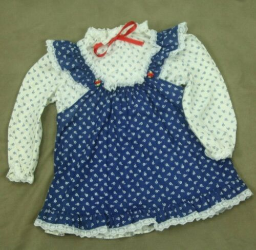 Vintage 80s Evy of California Pinafore Dress Size