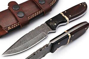 BG CUSTOM HAND FORGED DAMASCUS SKINNER BLADE KNIFE 94