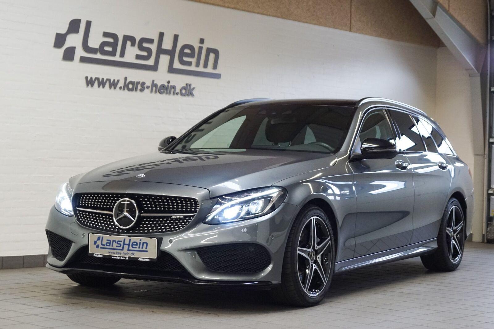 Mercedes C43 3,0 AMG stc. aut. 4-M 5d - 649.800 kr.