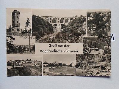Postkarte Ansichtskarte Sachsen.gruß Aus Der Vogtländischen Schweiz