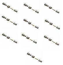 Amphenol Mini UHF Male Connector for RG58 LMR-195 # 182110-10 Pack
