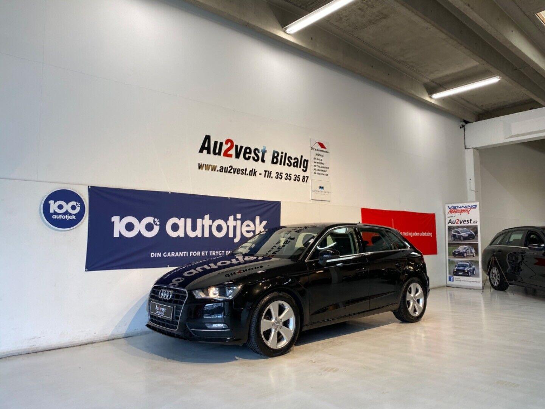 Audi A3 2,0 TDi 150 Ambition SB 5d - 129.999 kr.