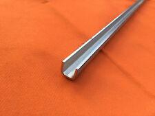 Edelstahl U - Profil 2mm Glas Leiste Blech V2A geschliffen
