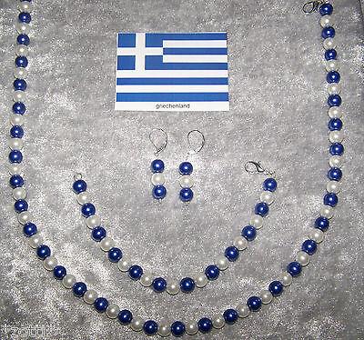 Kroatien Ohrhänger Kette Armband Hrvatska Nationalmannschaft EM WM Olympia