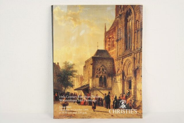 Auktionskatalog Christie's Amsterdam 19th European Pictures Watercol. 26.10.1995