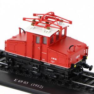 HO-1-87-Scale-Atlas-E-69-03-1912-TRAM-TRAIN-Locomotives-Model-Collectible