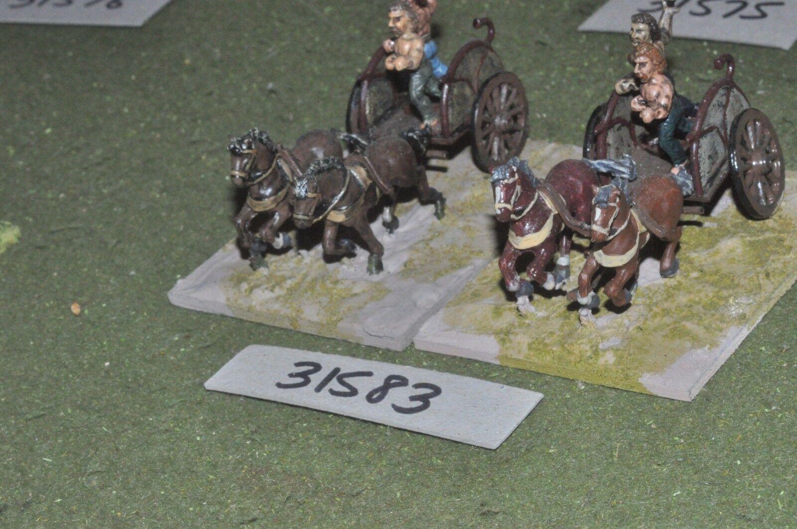 25mm roman era   gaul - 2 light - chariot (31583)