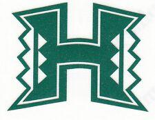Reflective Hawaii Warriors 2 Inch Fire Helmet Hard Hat Decal Sticker RTIC