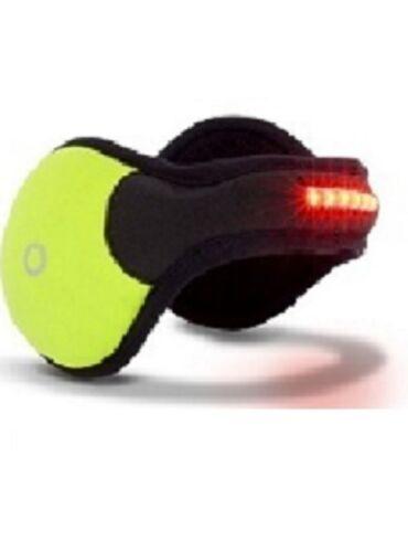 180s Strobe LED Biker Ear Warmer Earmuff Unisex NEW Safety Lights Free Shipping