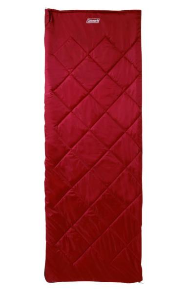 Coleman Durango Single Red Sleeping Bag Sacco A Pelo Da Campeggio Outdoor Soffitto Famoso Per Materie Prime Di Alta Qualità, Gamma Completa Di Specifiche E Dimensioni E Grande Varietà Di Design E Colori