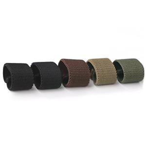 Nylon Canvas Web Belt Elastic Loop Keeper for 1.5inch Wide Beltset of 5 NEW