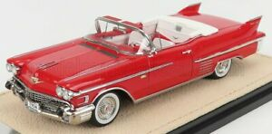 STAMP-MODELS 1/43 CADILLAC | SERIES 62 CABRIOLET OPEN 1958 | RED
