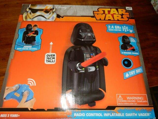 Star Wars Radio Controled Inflatable Darth Vader NEW IN BOX