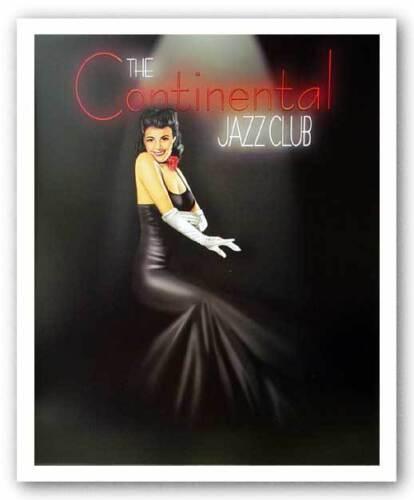 Lounge Art Print Continental Jazz Club Ralph Burch