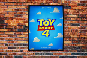 Toy Story 4 2019 Movie Poster Wall Art Maxi Disney Prints New Film
