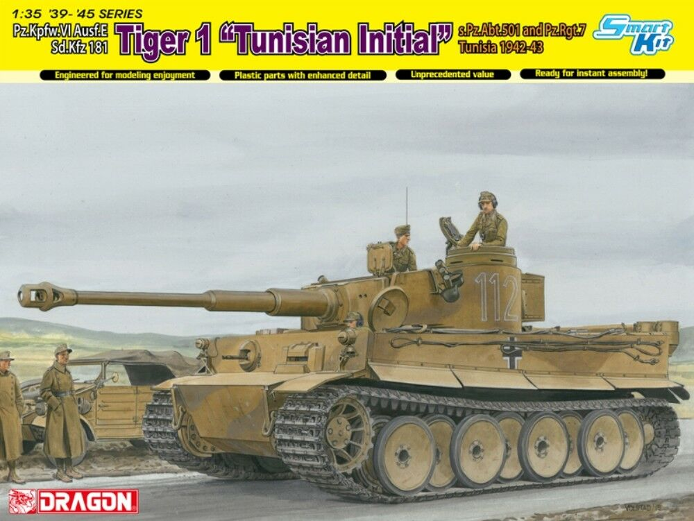 DRAGON 6608 Pz.Kpfw.VI Ausf.E Sd.Kfz 181 Tiger 1 1 35  | Fairer Preis