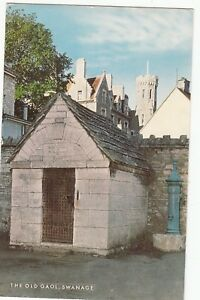 Postcard-THE-OLD-GAOL-SWANAGE-Ref-C1