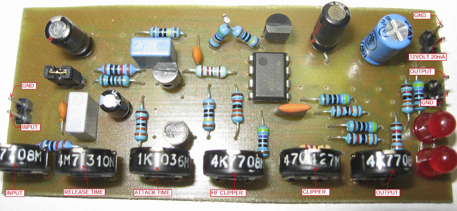 compressor limiter for fm transmitter broadcast ebay rh ebay com