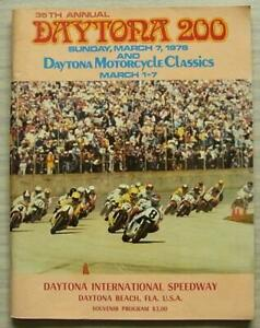 Daytona-200-de-marzo-de-1976-programa-de-carrera-oficial-de-Motocicleta