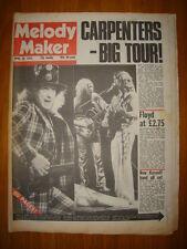 MELODY MAKER 1975 APR 26 CARPENTERS PINK FLOYD SLADE