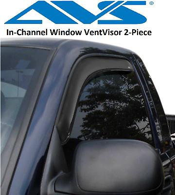 Rain Guards Visor 2pcs Chevy Silverado 1500-3500 1999 1900 2001-2006 Regular Cab