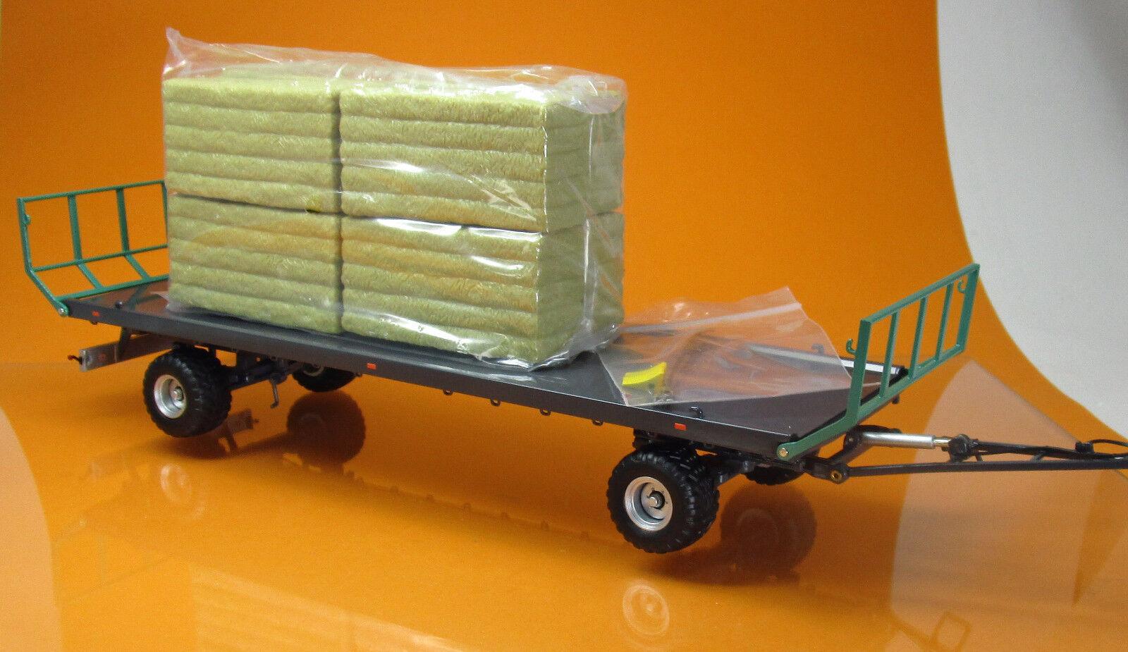 Wiking 077831 Oehler Zweiachs Ballentransportwagen ZDK 120 B Scale 1 32 NEU OVP