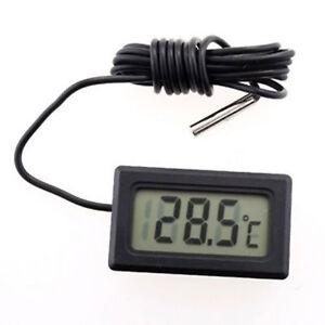 LCD Digital Thermometer for Fridge//Freezer//Aquarium//FISH TANK Temperature