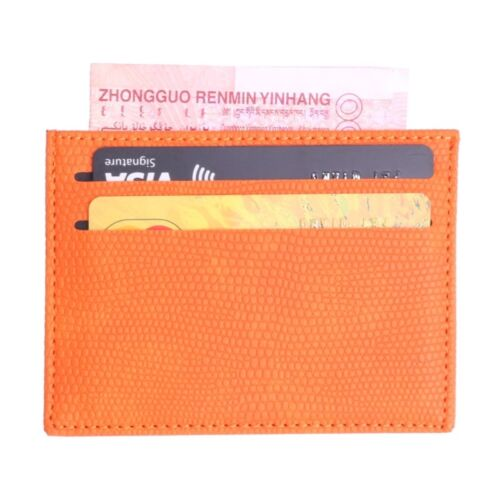 Colorful Leather Bank Card Holder Wallet Slim Credit Card ID Cover Case Bag New
