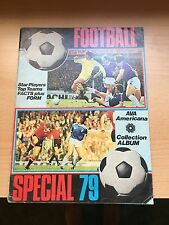 Football Special 1979 Album Star Players Premier league AVA American Collection