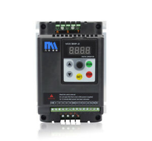 1.5KW 220V Variable Frequency Drive Inverter VFD Single Phase Input AT1-1500X