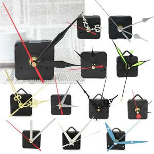 DIY-Battery-Quartz-Wall-Clock-Movement-Mechanism-Repair-Parts-Kit-Black-Tool-1X