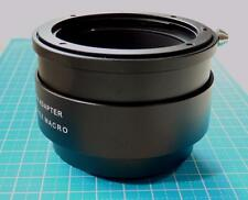 Lens Mount Adapter Macro Focusing Helicoid Canon EOS EF to Sony E NEX A7