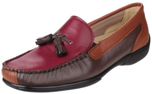 Biddlestone Chaussure Mocassin Ladies Châtaigne Style Mocassin En Slip Cuir Cotswold On qHFwZBn