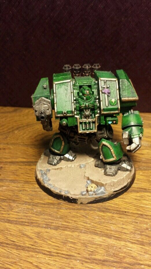 Space Marine Dreadnought PAINTED Warhammer 40,000 40K Space Marines