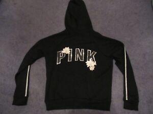Zip Pink Bling grande Nw Victoria's fleur brodée Secret parfaite WH92IDE