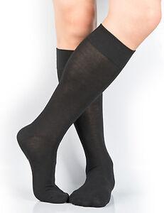 fafc4d7e7f LOT Mens Soft Cotton/Nylon Knee-High Dress Socks 4-10/7-12/13-15 Big ...