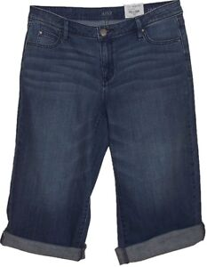 a-n-a-Medium-Blue-Jean-Capri-Pants-Women-039-s-Size-6-28-New