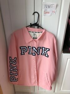 Nwt Victoria Secret Pink large Sherpa Jacket. Hard To Find ...